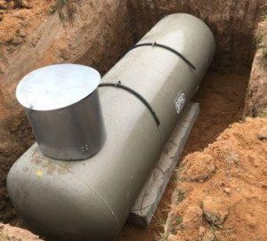Подземный газгольдер