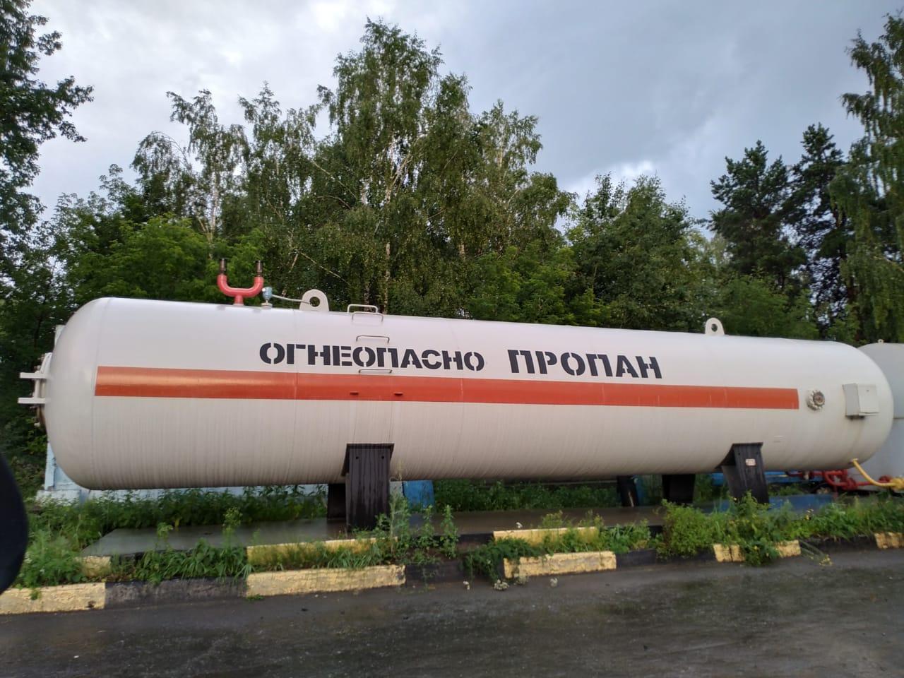 Заправка газовая пропаном