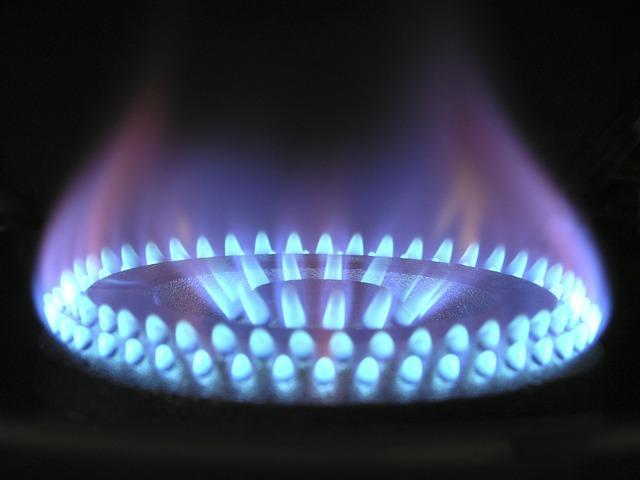 Газ пламя