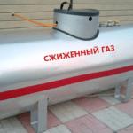 Наземный газгольдер
