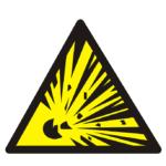 Предупреждение о возможном взрыве газа