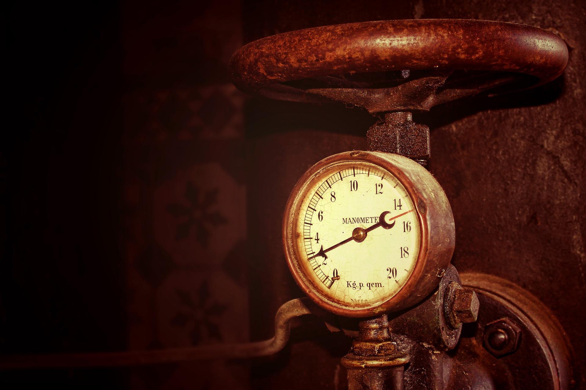 Измеритель давления газа