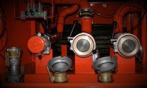 Доставка газа для газгольдера