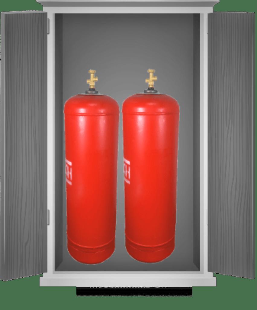 Отопление дома газовыми баллонами. Расчет количества баллонов, схема подключения