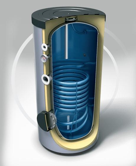 Схема подключения одноконтурного и двухконтурного газового котла с бойлером косвенного нагрева